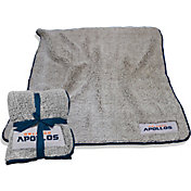Logo Orlando Apollos Frosty Fleece Blanket