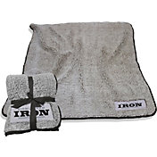 Logo Birmingham Iron Frosty Fleece Blanket