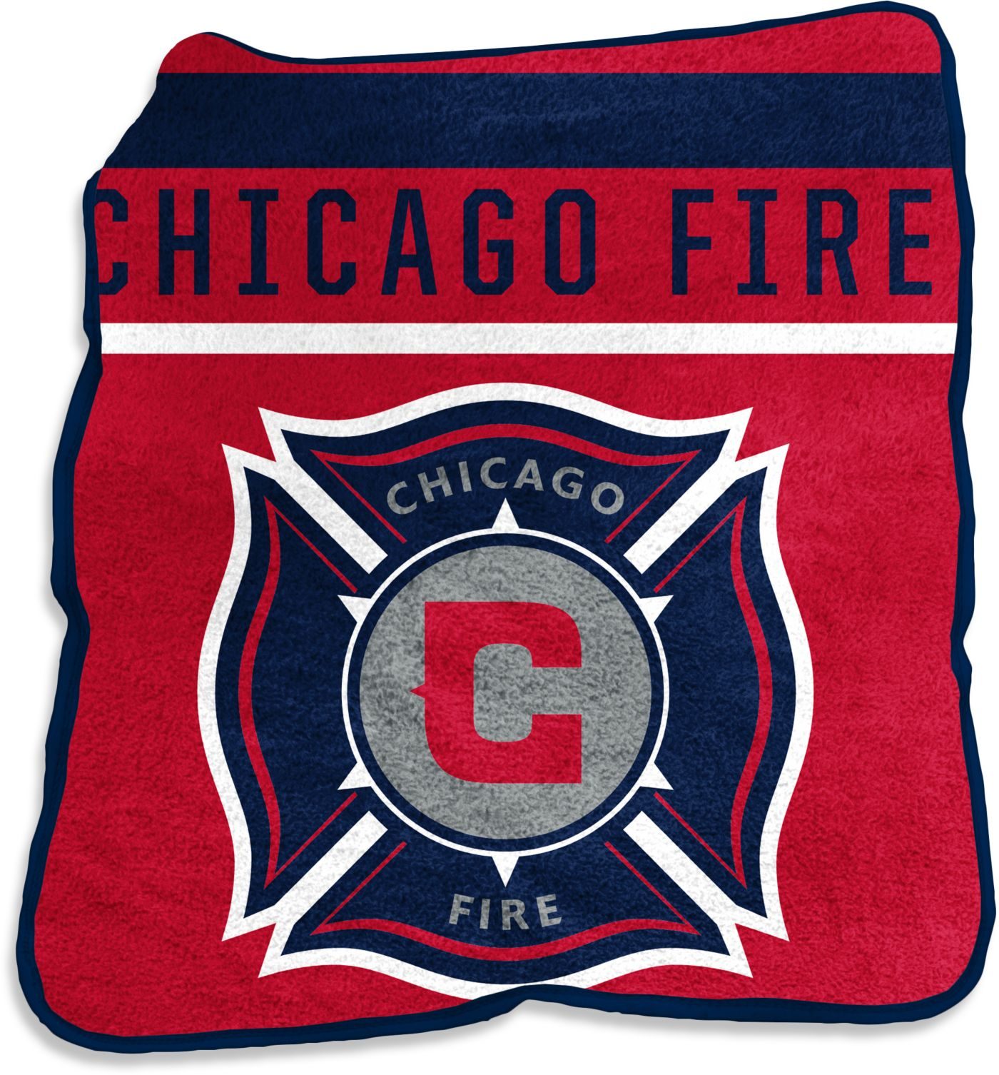 Chicago Fire Gameday Throw Blanket
