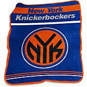 New York Knicks Game Day Throw Blanket