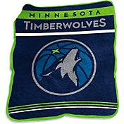 Minnesota Timberwolves Game Day Throw Blanket