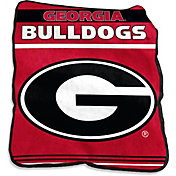 Georgia Bulldogs Game Day Throw Blanket