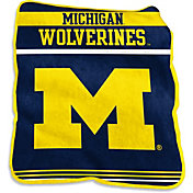 Michigan Wolverines Game Day Throw Blanket
