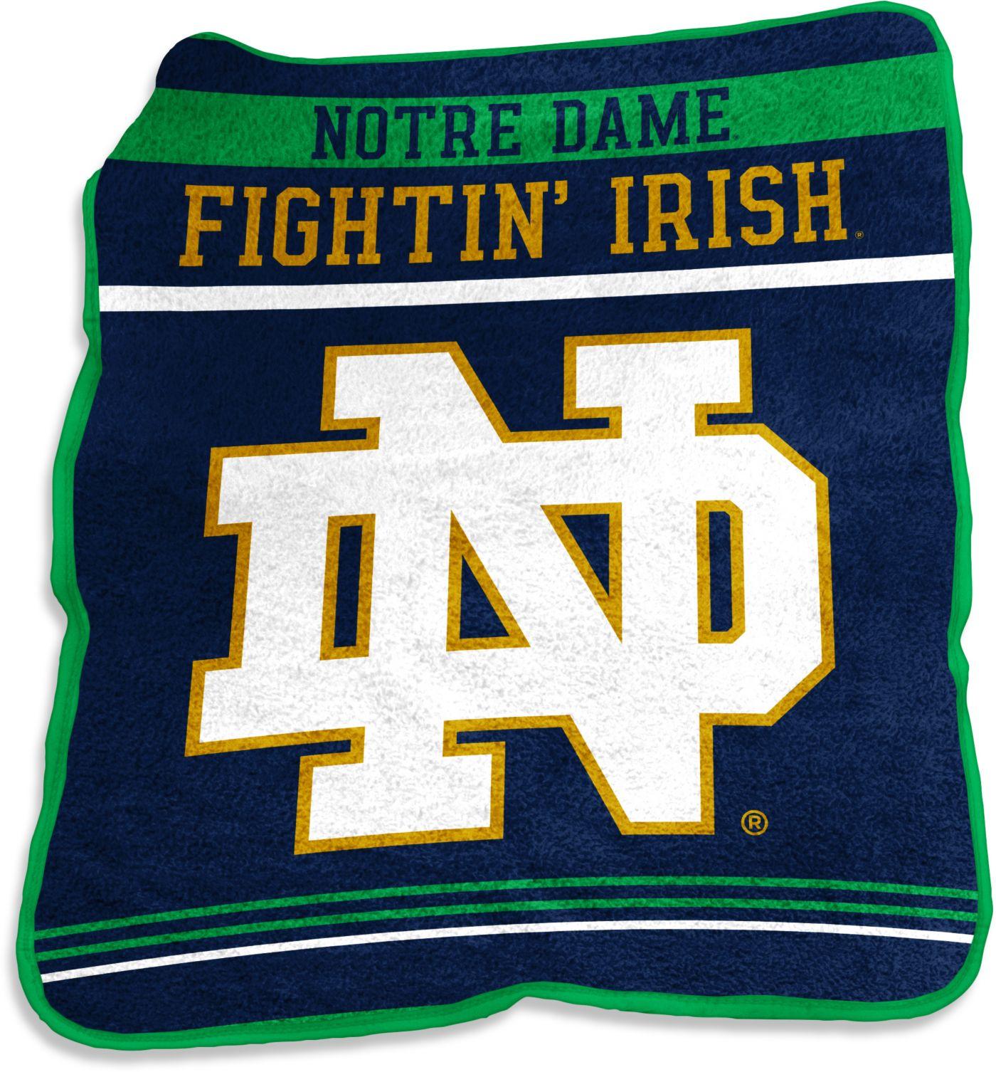 Notre Dame Fighting Irish Game Day Throw Blanket