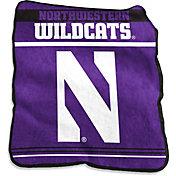 Northwestern Wildcats Game Day Throw Blanket
