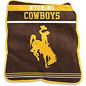 Wyoming Cowboys Game Day Throw Blanket
