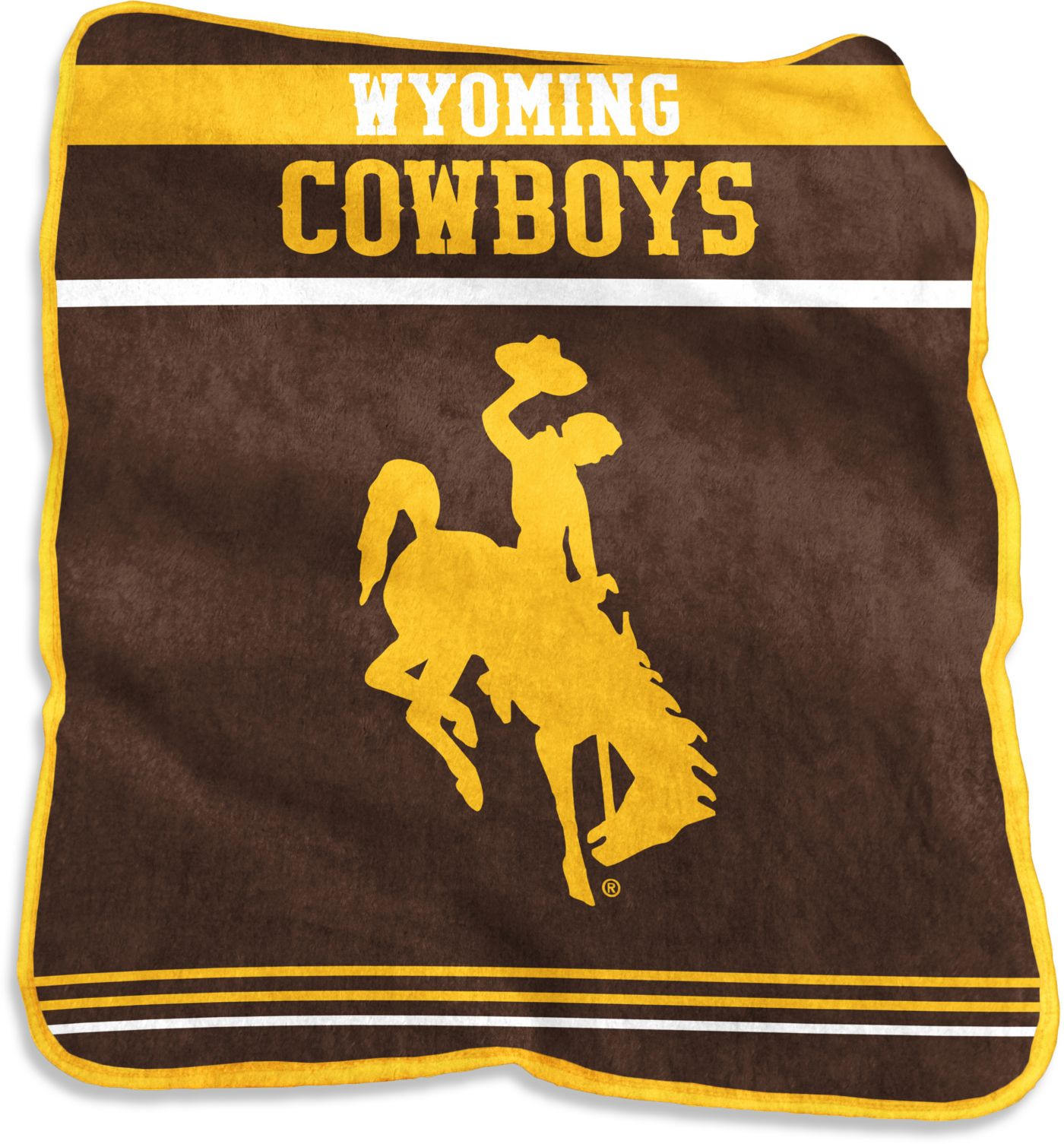 Wyoming Cowboys Game Day Throw Blanket