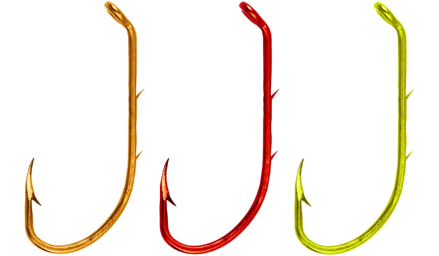 Eagle Claw Lazer Sharp Assorted Baitholder Fishing Hooks