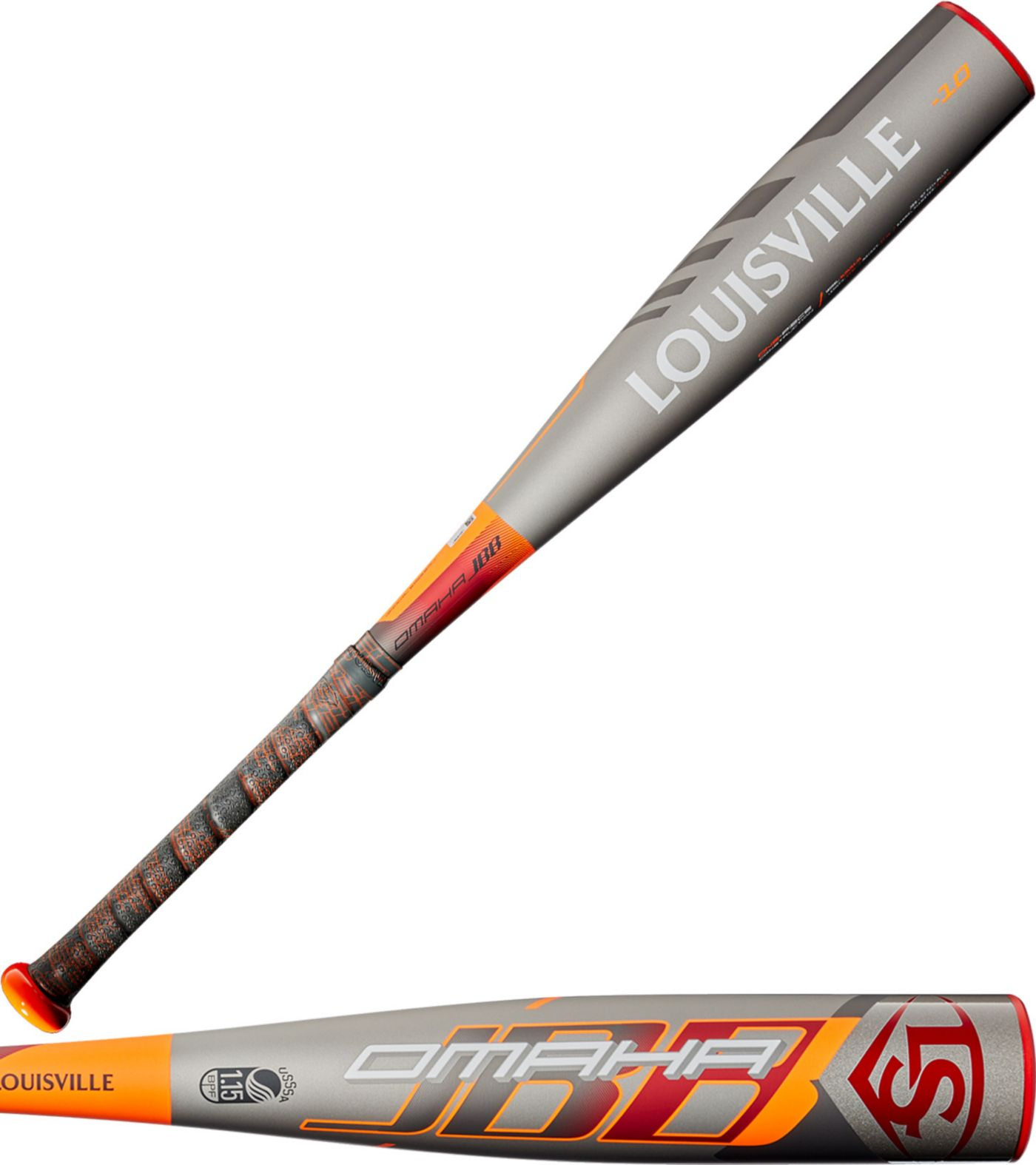 Louisville Slugger Omaha USSSA Jr. Big Barrel Bat 2020 (-10)
