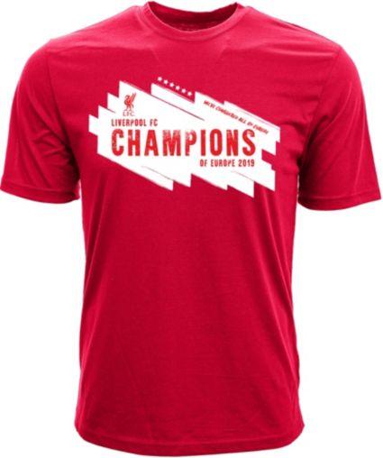 Levelwear Men S 2019 Champions League Champs Liverpool Fc