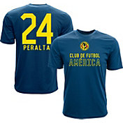 Levelwear Men's Club America Oribe Peralta #24  Navy Player Tee