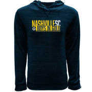 Levelwear Men's Nashville SC Anchor Navy Pullover Sweatshirt