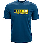 Levelwear Men's Nashville SC Richmond Navy T-Shirt