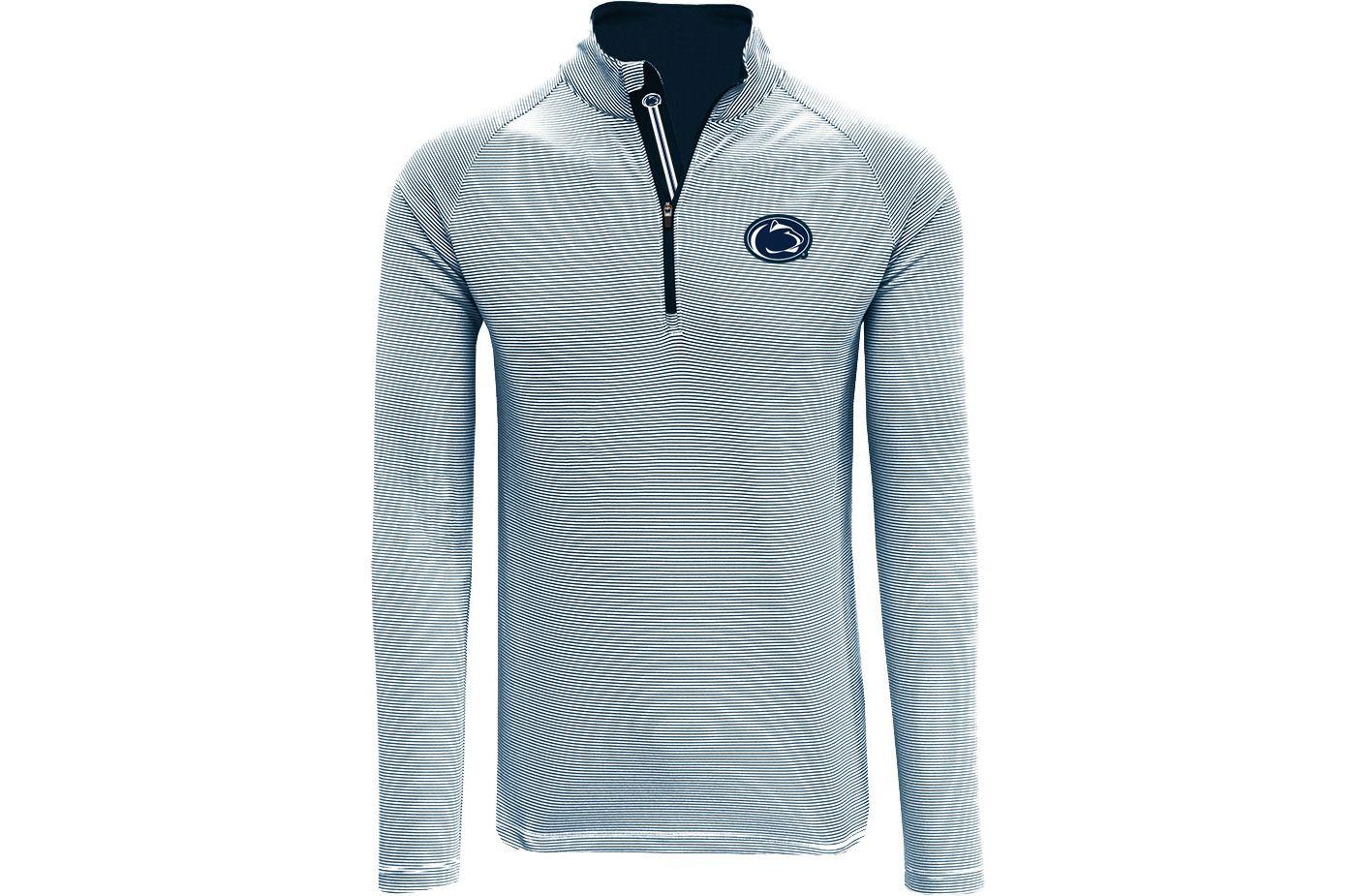 Levelwear Men's Penn State Nittany Lions Blue Orion Quarter-Zip Shirt