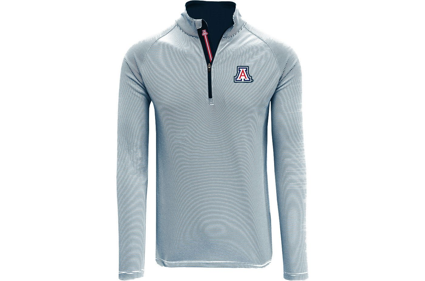 Levelwear Men's Arizona Wildcats Navy Orion Quarter-Zip Shirt