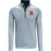 Levelwear Men's Syracuse Orange Blue Orion Quarter-Zip Shirt