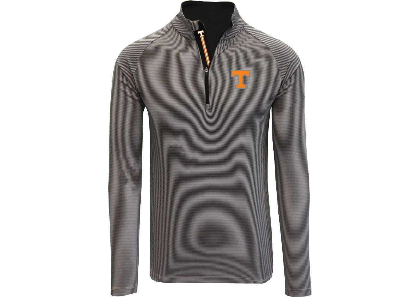 Levelwear Men's Tennessee Volunteers Grey Orion Quarter-Zip Shirt