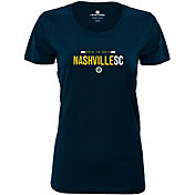 Levelwear Women's Nashville SC Wordmark Navy T-Shirt