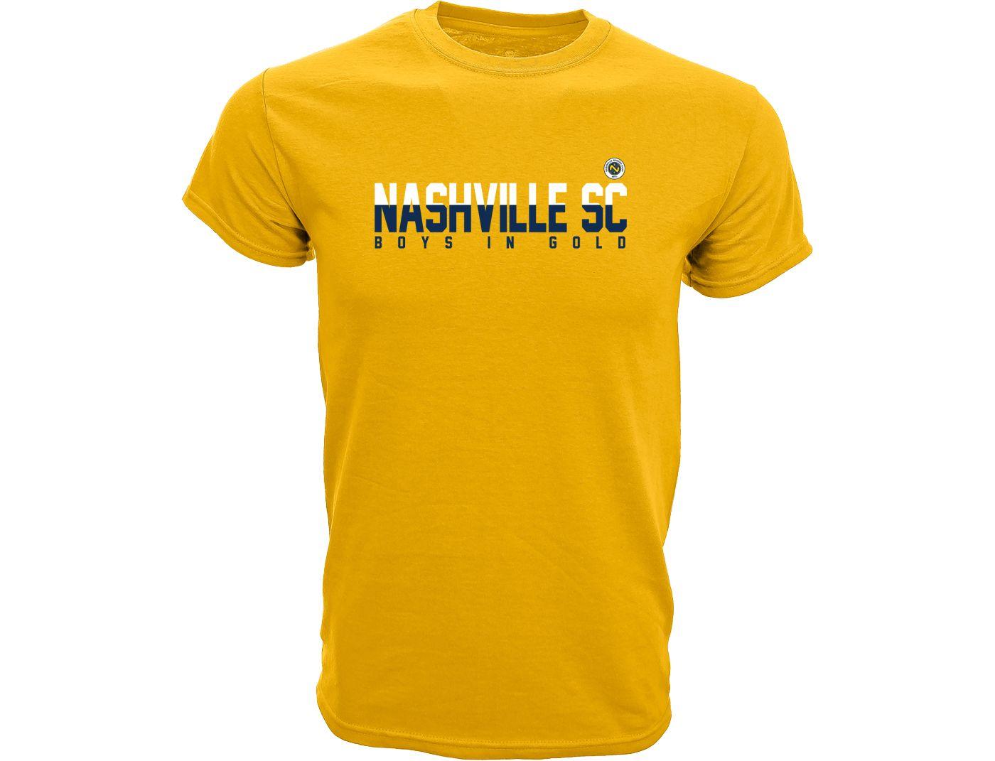 Levelwear Youth Nashville SC Richmond Gold T-Shirt