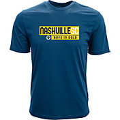 Levelwear Youth Nashville SC Richmond Navy T-Shirt