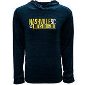 Levelwear Youth Nashville SC Anchor Navy Pullover Sweatshirt