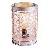 Candle Warmers Etc. Chicken Wire Edison Bulb Illumination