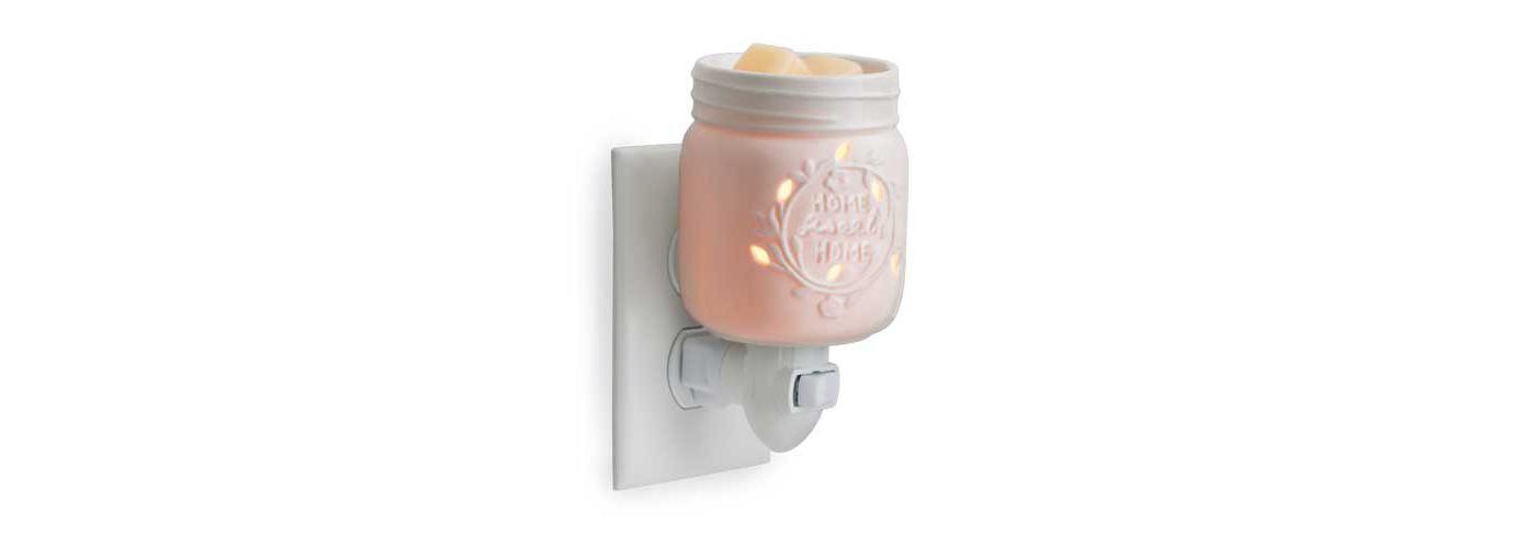 Candle Warmers Etc. Mason Jar Pluggable Fragrance Warmer