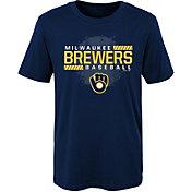 Gen2 Boys' Milwaukee Brewers Knuckleball T-Shirt