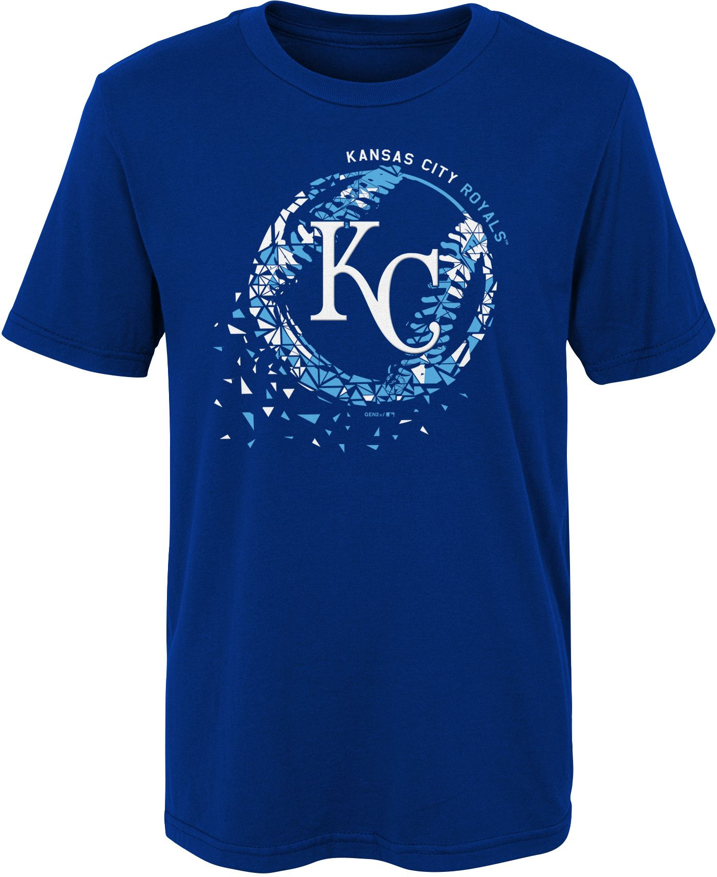 Gen2 Boys' Kansas City Royals Shatter Ball T-Shirt