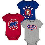 Gen2 Infant Chicago Cubs 3-Piece Onesie Set