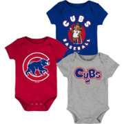 Gen2 Infant Chicago Cubs 3-Piece Onesie Set