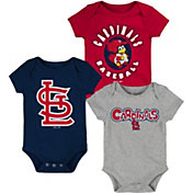 Gen2 Infant St. Louis Cardinals 3-Piece Onesie Set