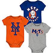 Gen2 Infant New York Mets 3-Piece Onesie Set