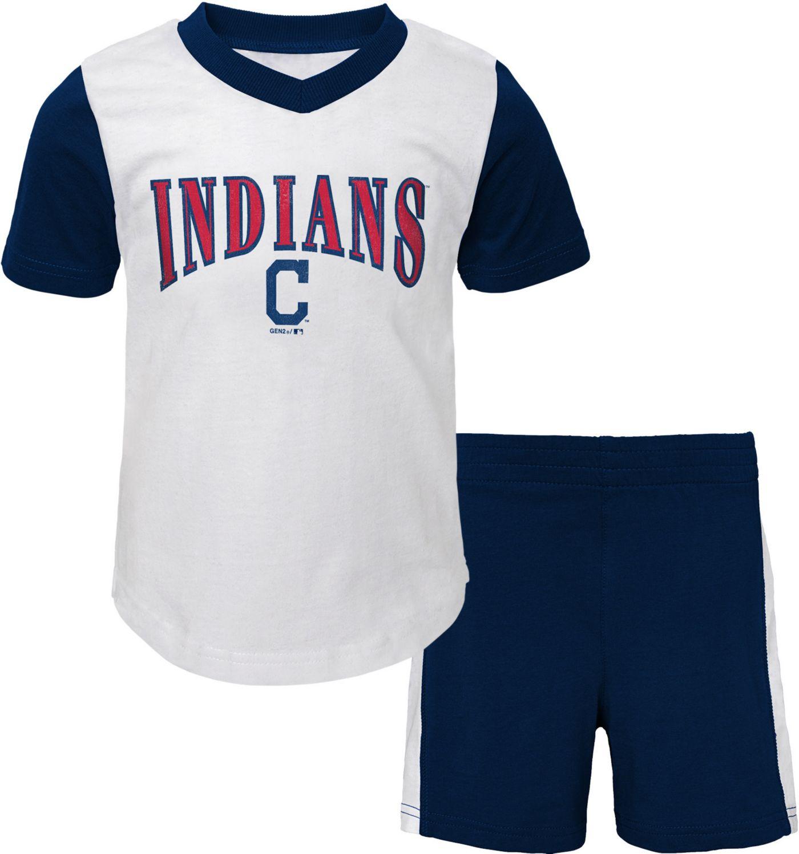Gen2 Infant Cleveland Indians Shorts & Top Set