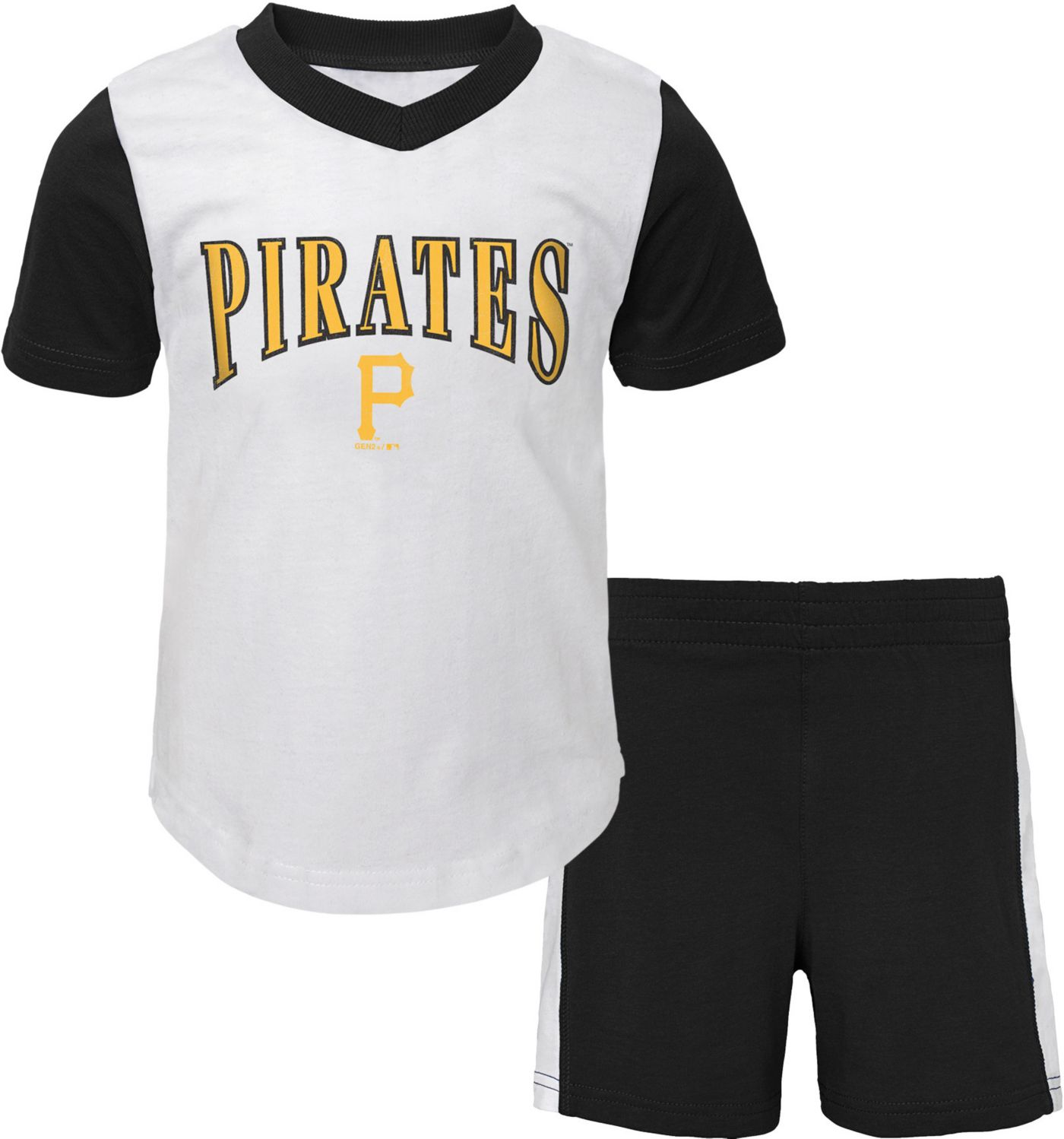 Gen2 Infant Pittsburgh Pirates Shorts & Top Set