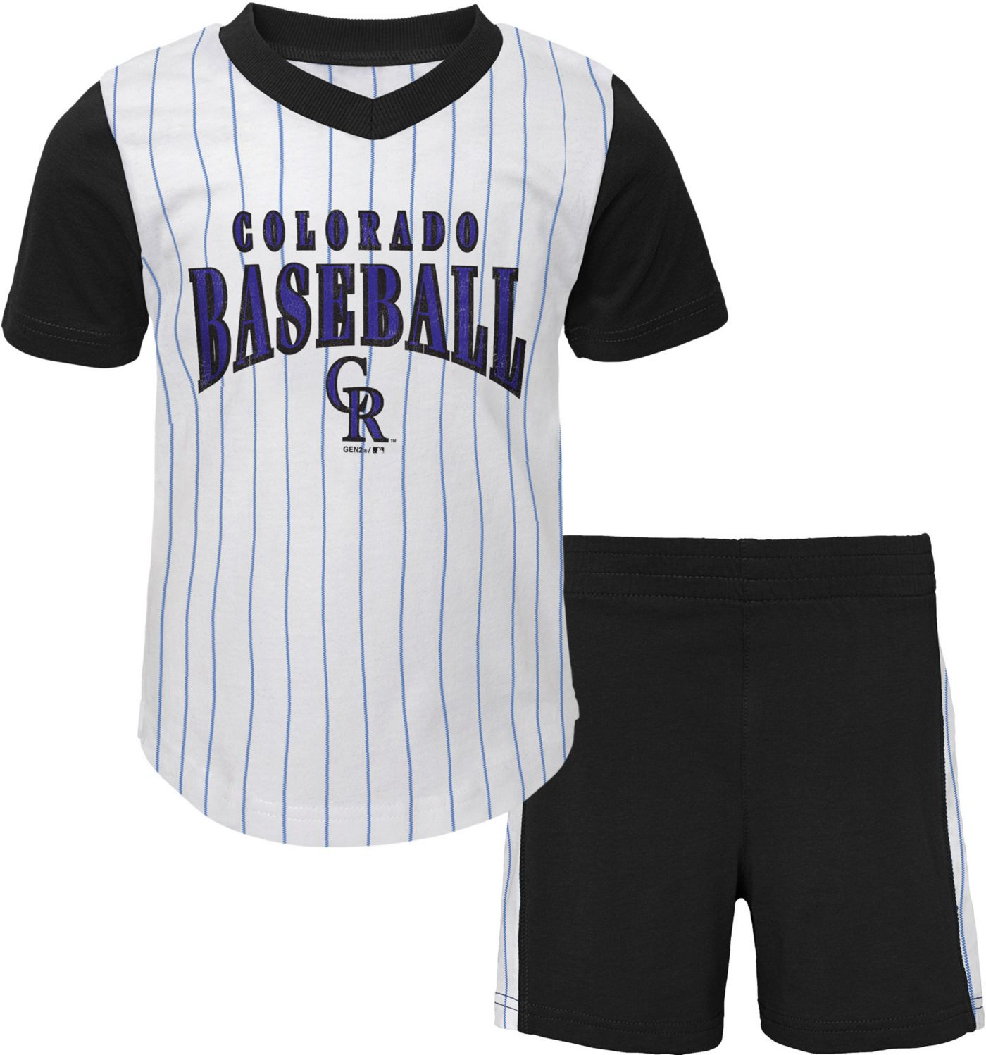 Gen2 Infant Colorado Rockies Shorts & Top Set
