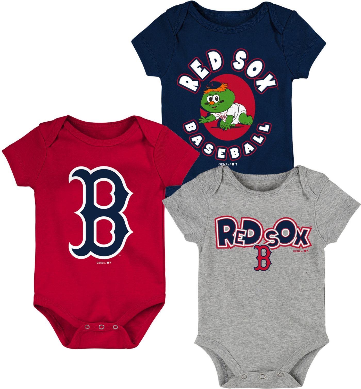 Gen2 Infant Boston Red Sox 3-Piece Onesie Set