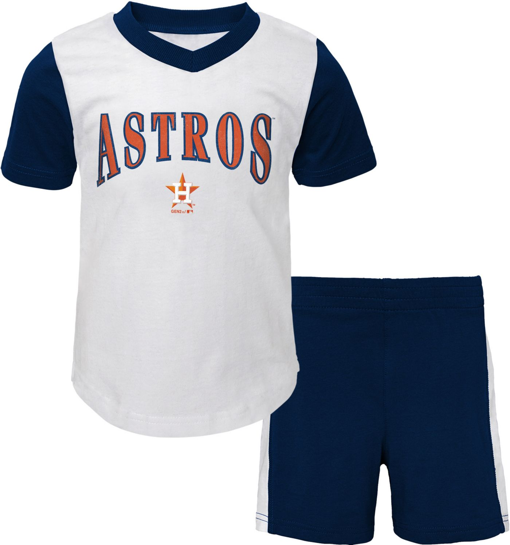 Gen2 Infant Houston Astros Shorts & Top Set