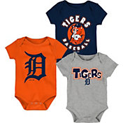 Gen2 Infant Detroit Tigers 3-Piece Onesie Set