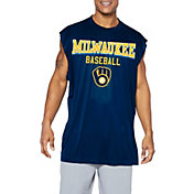 Majestic Big and Tall Men's Los Angeles Angels Navy Muscle T-Shirt
