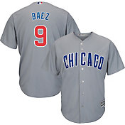 43f808c699e Product Image · Majestic Men's Replica Chicago Cubs Javier Baez #9 Cool  Base Road Grey Jersey