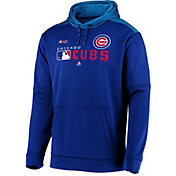 Majestic Men's Chicago Cubs Authentic Collection Pullover Hoodie