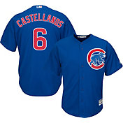 Majestic Men's Replica Chicago Cubs Nick Castellanos #6 Cool Base Alternate Royal Jersey