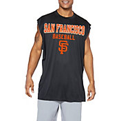 Majestic Big and Tall Men's San Francisco Giants Black Muscle T-Shirt