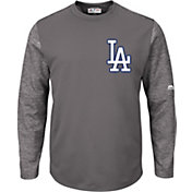Majestic Men's Los Angeles Dodgers Therma Base Authentic Collection Pullover Tech Fleece