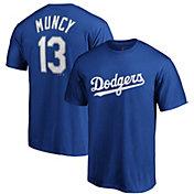 Majestic Men's Los Angeles Dodgers Max Muncy #13 Royal T-Shirt