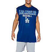 Majestic Big and Tall Men's Los Angeles Dodgers Royal Muscle T-Shirt