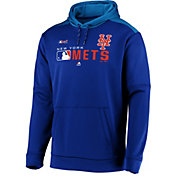 Majestic Men's New York Mets Authentic Collection Pullover Hoodie