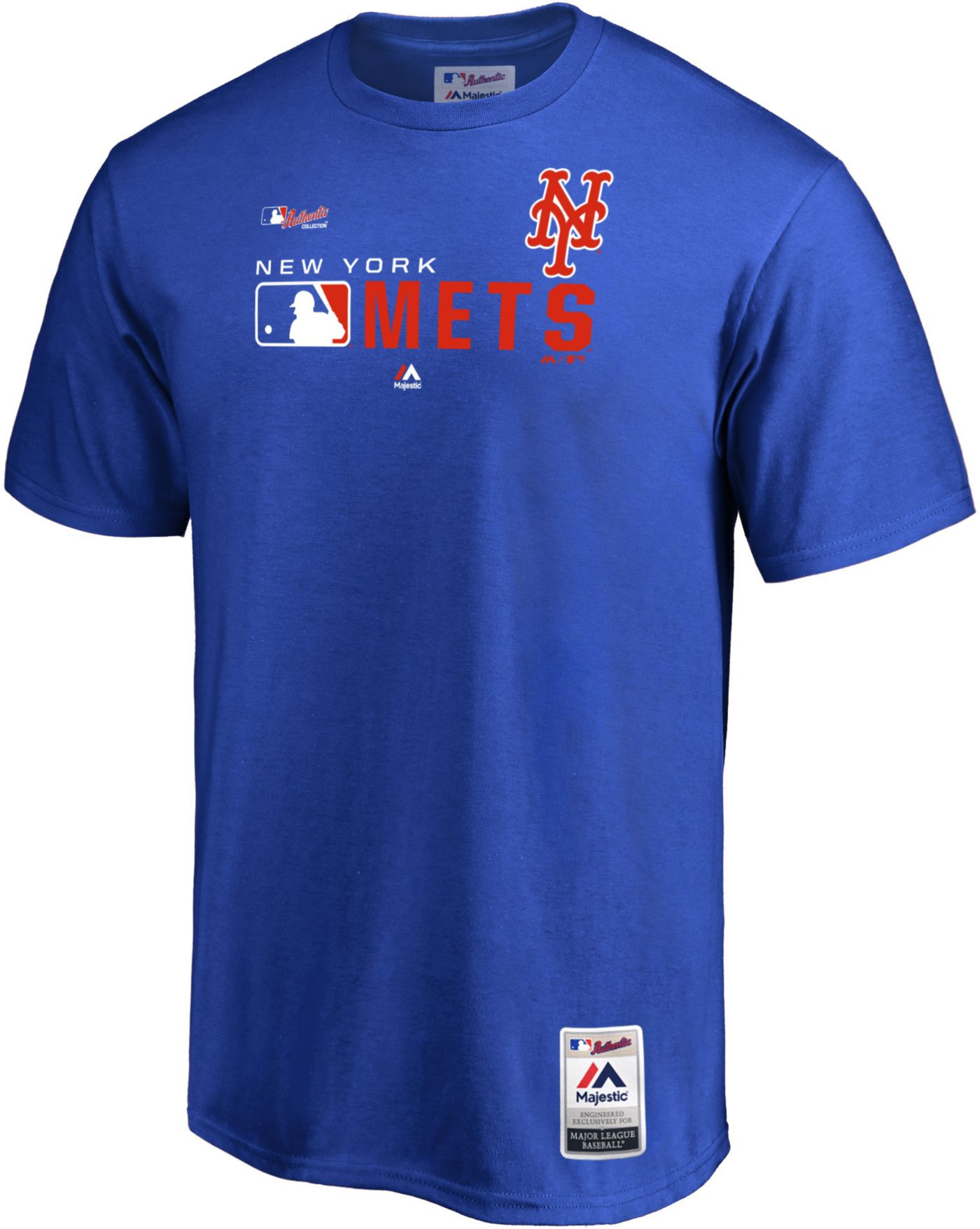 Majestic Men's New York Mets Authentic Collection T-Shirt