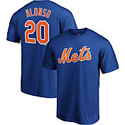 Majestic Men's New York Mets Pete Alonso #20 Royal T-Shirt